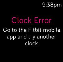 Clock Error